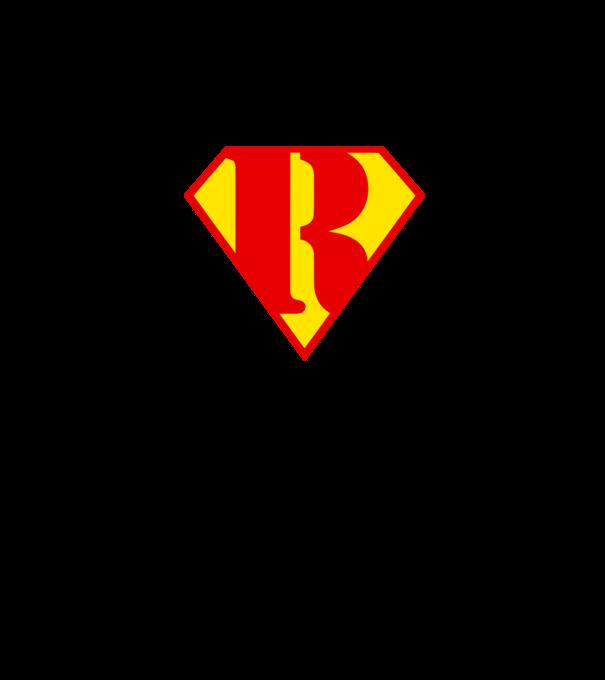 Superman R póló minta - Pólómánia 416703fc6e