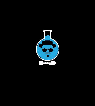 Breaking Bad - Heisenberg Vial minta fekete pólón 28fae2589b