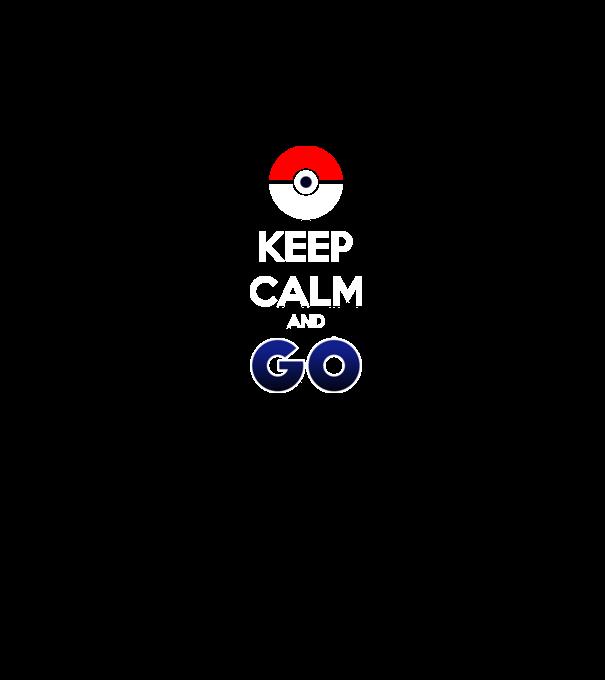Pokémon - Keep Calm and Go póló minta - Pólómánia 4fdcf18f19