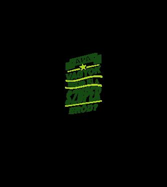 Apa szupererő minta szürke pólón 4767abb563