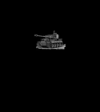 Tigris Tank minta fehér pólón 0f71135968