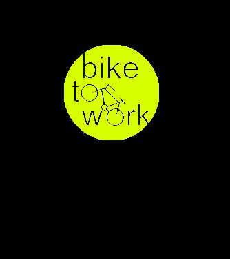 bike to work minta világos rózsaszín pólón 3f8c84100c