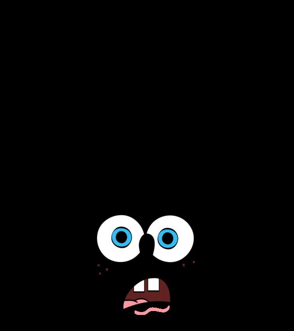 4f013cb2e4 SpongeBob minta sötétkék pólón. SpongeBob póló minta