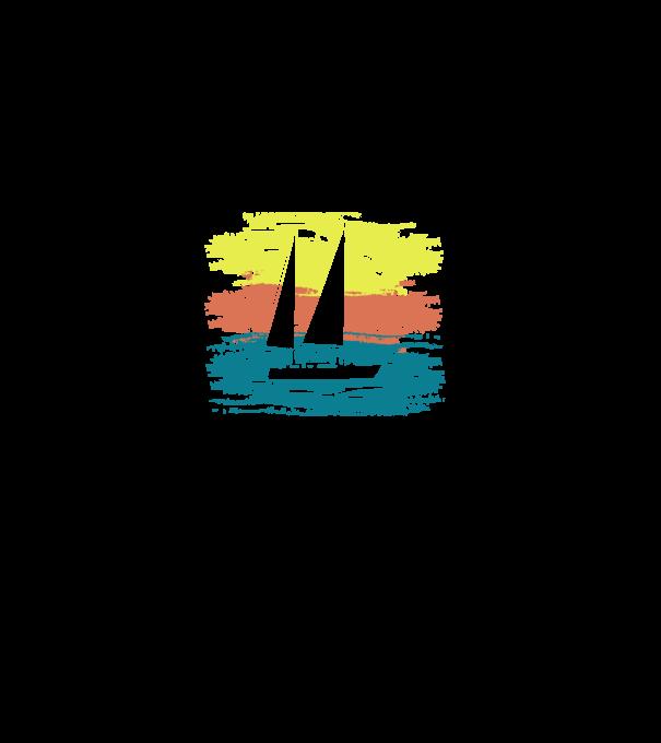 Balatoni hajókázás minta szürke pólón. Balatoni hajókázás póló minta 244e687a53
