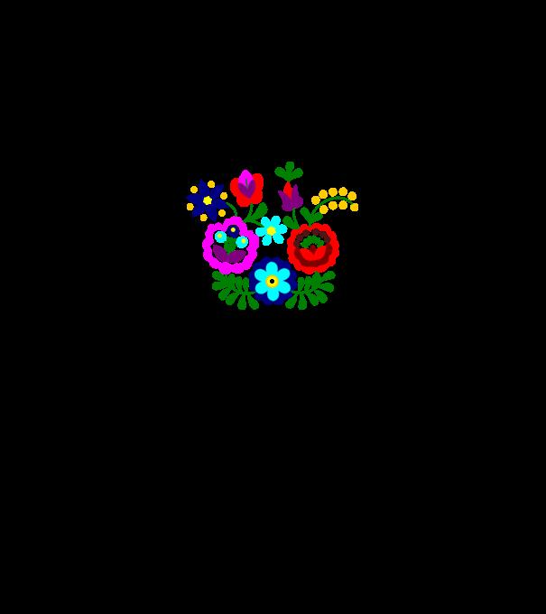 8962081121 Matyó - Szentistváni virágok póló minta - Pólómánia