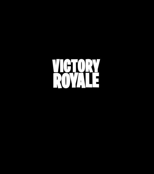 Victory royale Fortnite póló minta - Pólómánia ef07f4391e