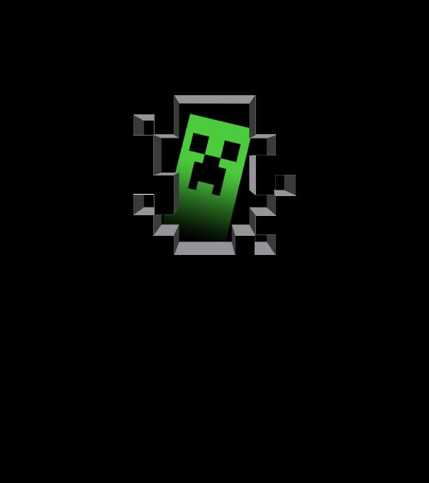 minecraft creeper póló minta - Pólómánia dbaba5269d