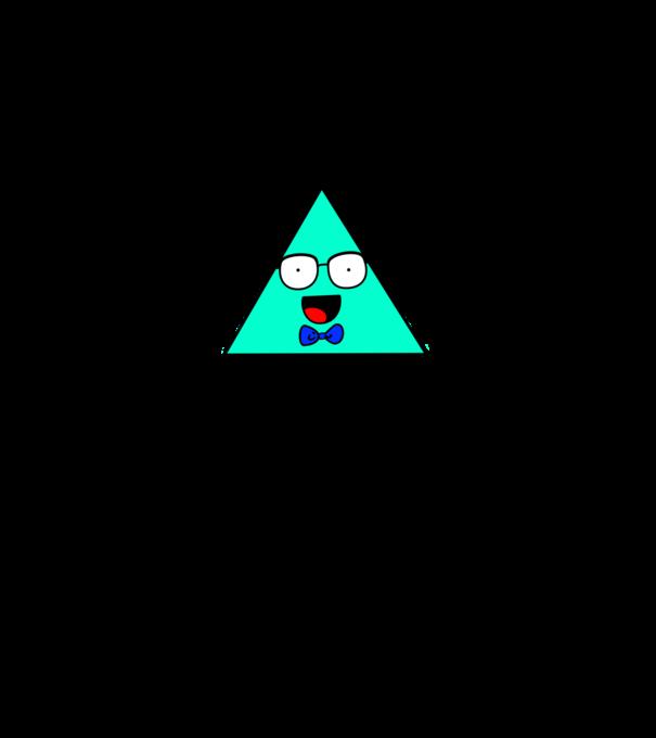 Nem vagyok kocka... Csak háromszög! póló minta - Pólómánia 759afd6add