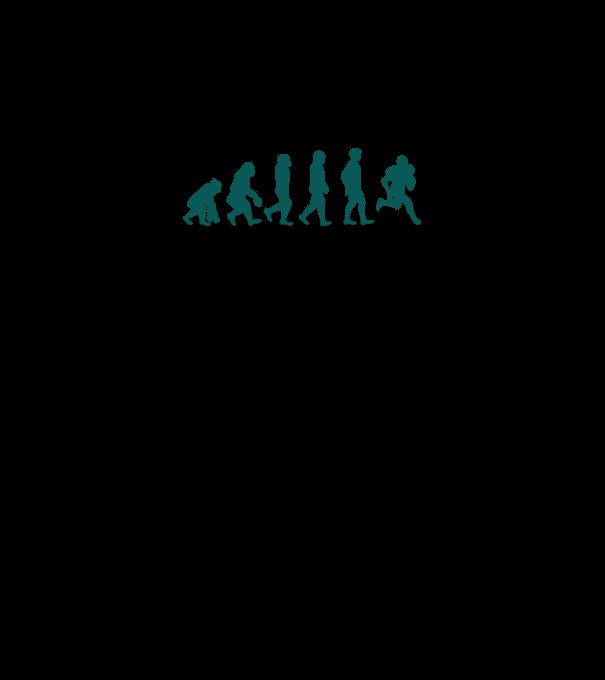 32bc1f31fe Evolúció (amerikai foci 3) póló minta - Pólómánia