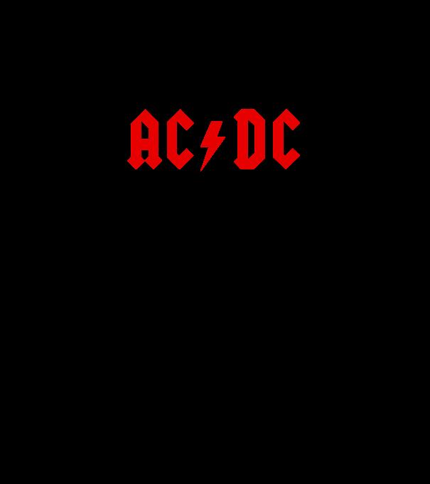 AC DC logo 2 póló minta - Pólómánia 675f5eb66c
