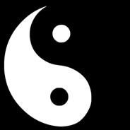 jin-jang-2color póló minta - Pólómánia
