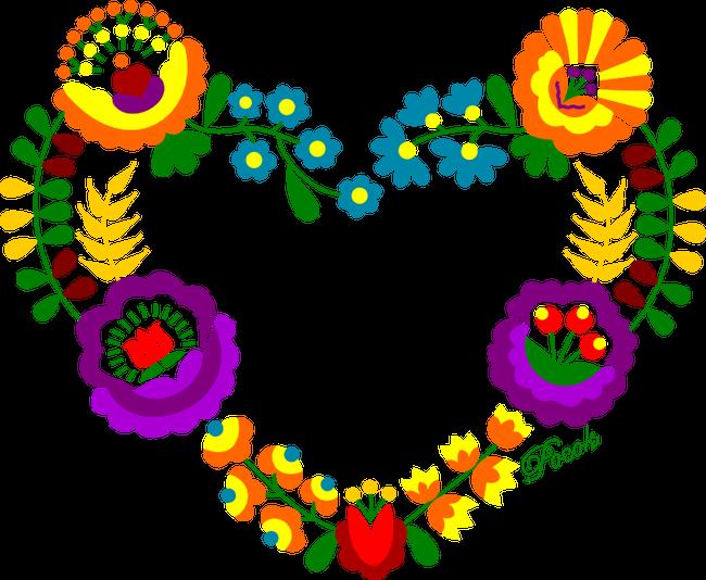 fcbbf3ba88 Matyó - Szentistváni szív póló minta - Pólómánia