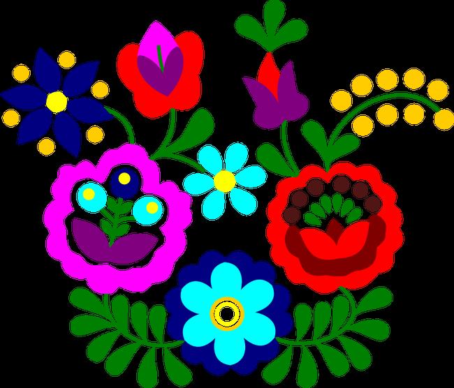 f4f4803da9 Matyó - Szentistváni virágok póló minta. Matyó - Szentistváni virágok
