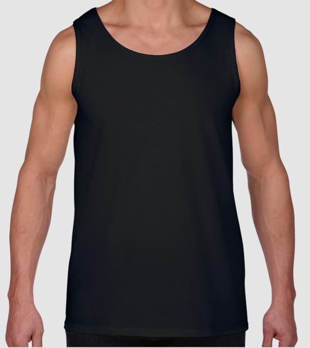 7a3d46eabd Férfi Ujjatlan Trikó póló minta. Hátulja
